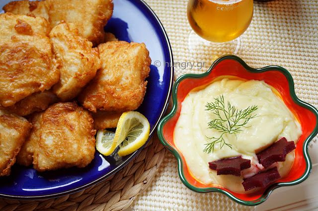 Kitchen Stories: Fried Salt Cod & Garlic Dip