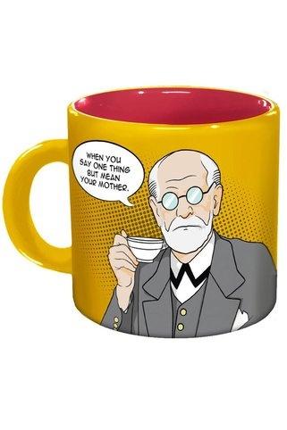 ... Sip, Things, Home Kitchens, Sigmund Freud, Mugs, Freudian Slip