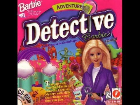 Let's Play Detective Barbie - Mystery of the Carnival Caper Part 1: So m...