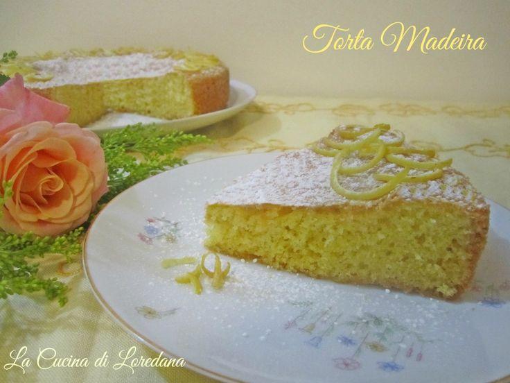 La Torta Madeira è una soffice e profumata torta deliziosa da mangiare a colazione ed ottima come base per torte farcite e decorate