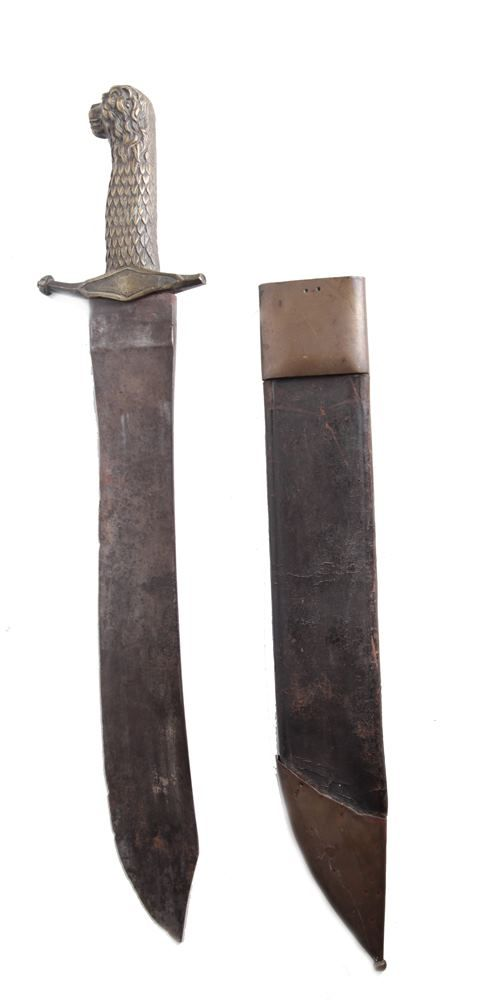 Lot 741 - EDGED WEAPONS - AN 1843 PATTERN PIONEER
