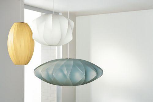 Nelson Bubble Lamps - the coolest!