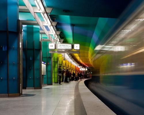 Best Subways Images On Pinterest Urban Architecture Metro - Vibrant photos of international subways capture their unappreciated beauty