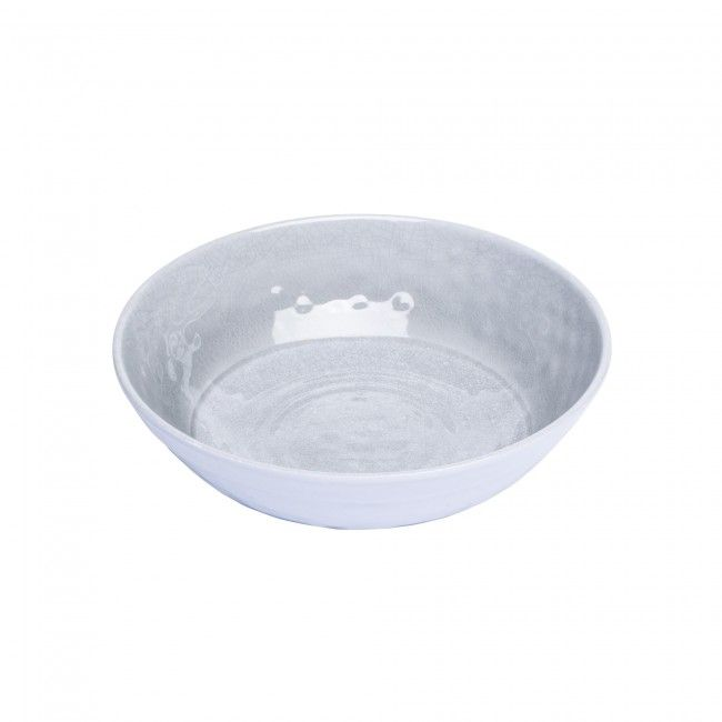 Serve your guests all summer long with this stylish and durable outdoor patioware. Perfect for use at your next backyard barbeque, lounging poolside, at the cottage, camping trip or at a picnic in the park. Thick melamine construction won't break when dropped and won't be damaged even when cutting into a delicious steak.