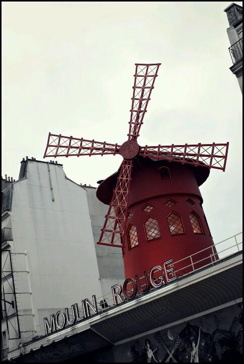 Paris France Mouling Rouge