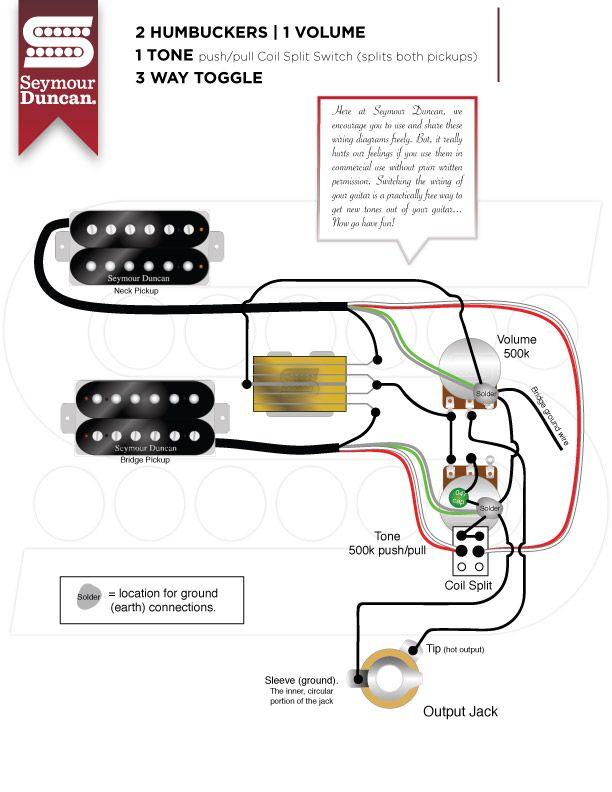wiring diagrams  seymour duncan  seymour duncan  guitar