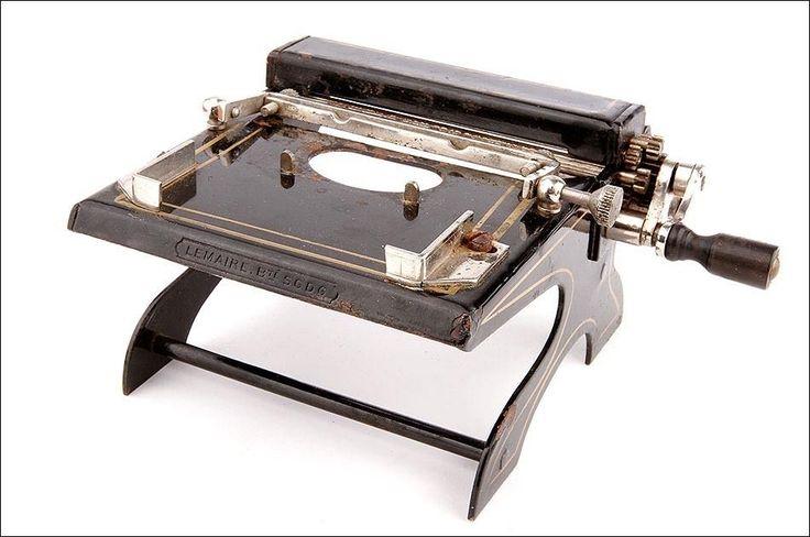 Rare Lemaire Cigarette Rolling Machine. Original Case. France, Early 20th C. | eBay