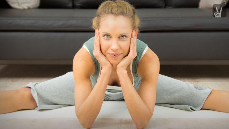 Yin Yoga für die Wirbelsäule: Das Workout für einen gesunden Rücken