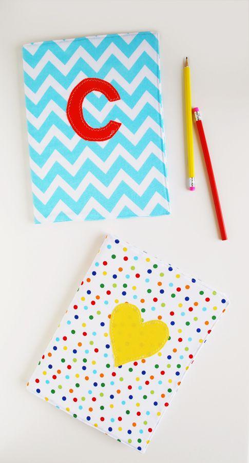 notebook cover tutorial / ann kelle