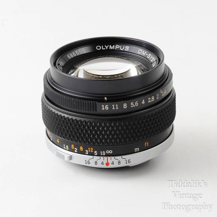 Olympus OM 50mm f1.4 Auto S Standard Lens OM Mount with Caps & Skylight Filter
