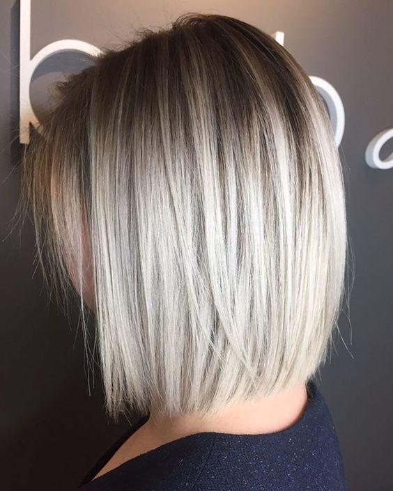 Abgestufte Haarschnitte für mittleres Haar – wer passt dazu