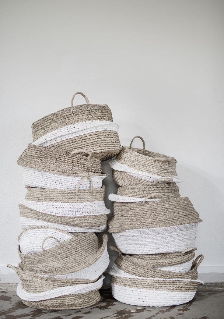 We love natural baskets for around the home!