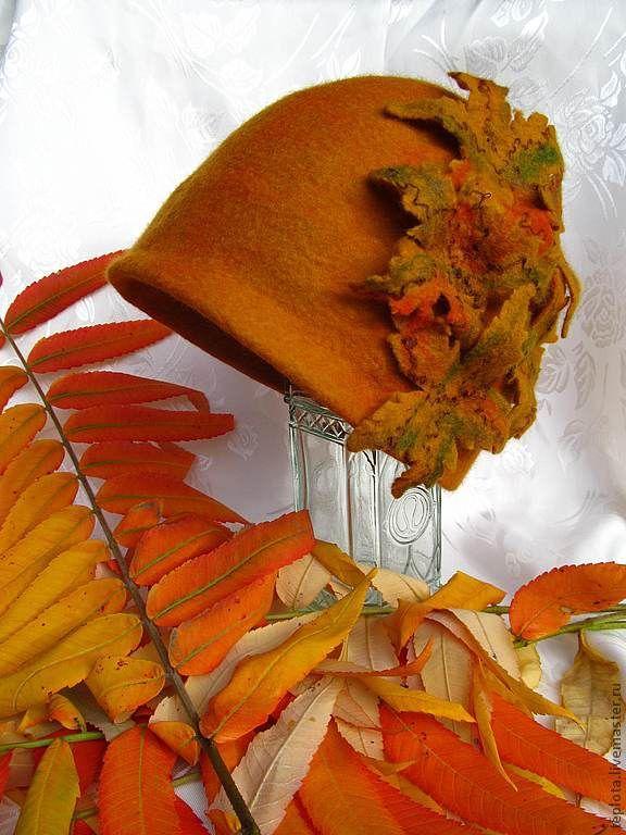 шляпа из листьев своими руками фото для