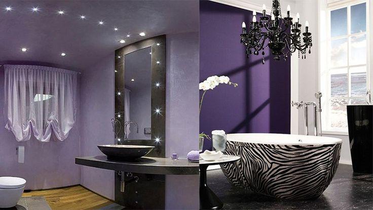 Best 25+ Purple Bathroom Decorations Ideas On Pinterest