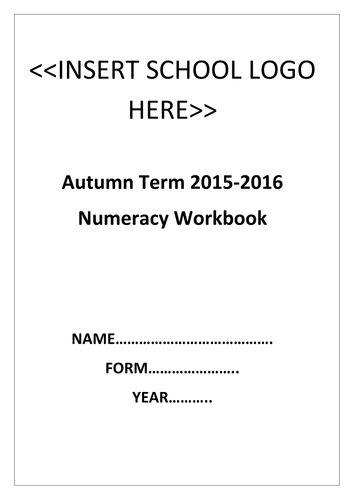 Basic skills numeracy workbook with video links