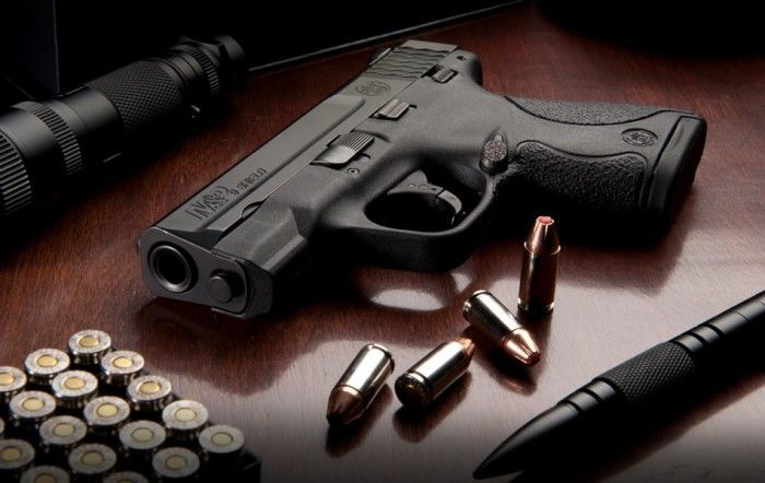 Smith & Wesson M&P Shield компактный, пистолет