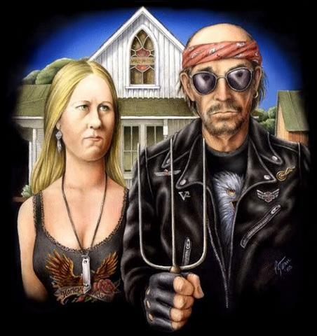"American ""Biker"" Gothic"