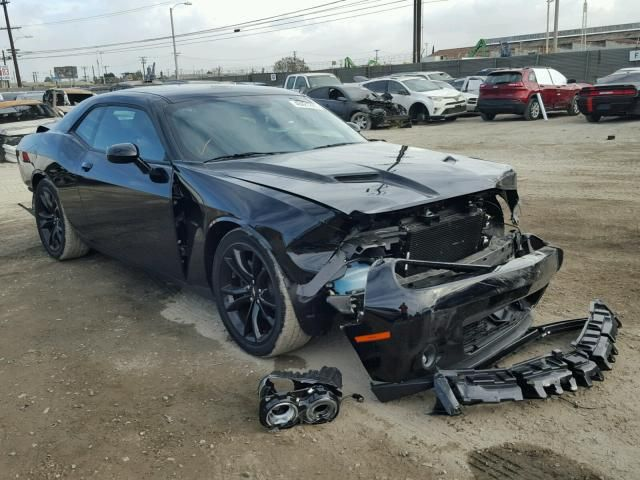 Salvage 2018 Dodge Challenger Rt Coupe For Sale | Salvage Title