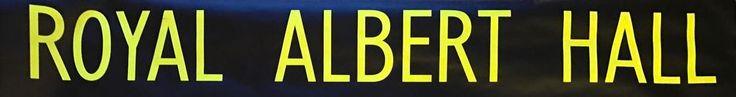 Royal Albert Hall Bus Blind  | eBay
