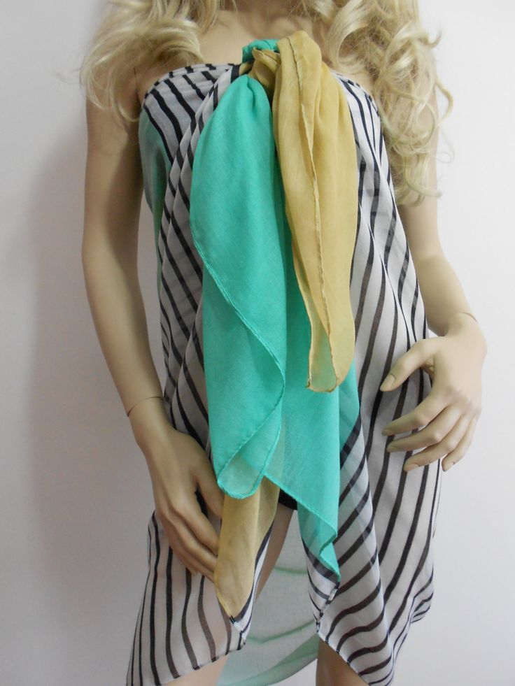 ScarfCluB Soft Pareo Scarf Lightweight Beach Wrap Long Scarf   www.scarfclub.net