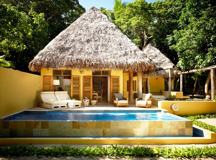 Deluxe Villa with your private pool at #Vatulele Private Islands resort opens up to your private spot on the beach.