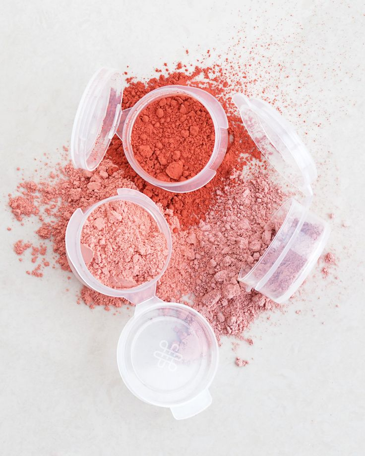 Omiana Loose Powder Mineral Blush Samples Without Mica