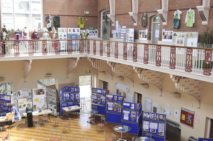 Exhibition Hall at Shipley College