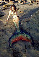 Mermaid on the Beach by MerBellas