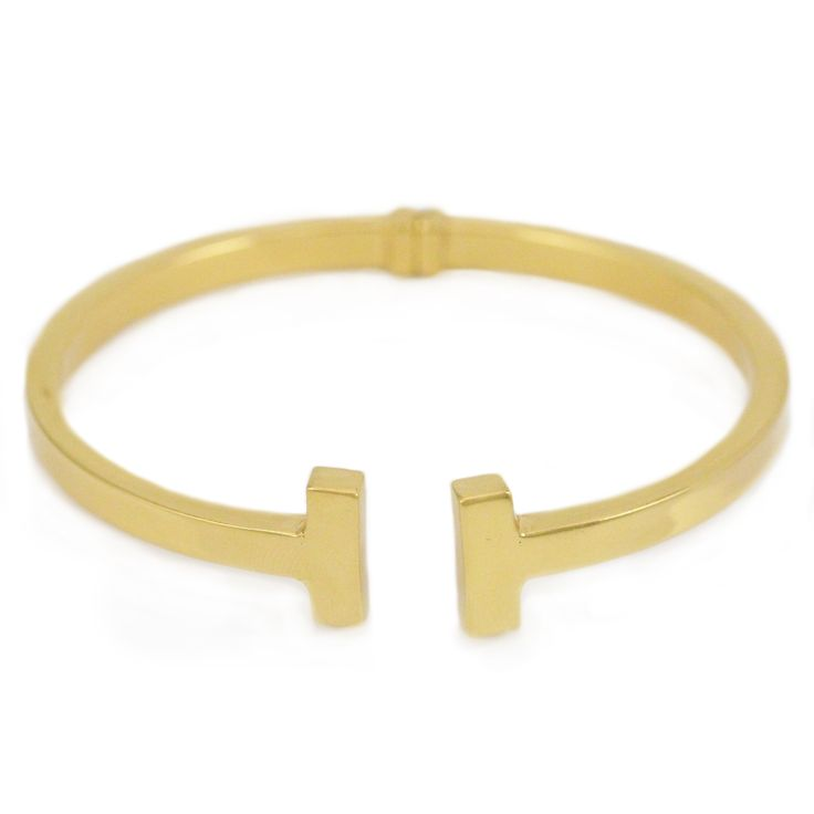 One Silver Gold-Plated Bracelet!