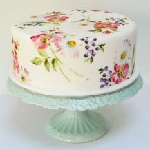 The Cake Painting Class