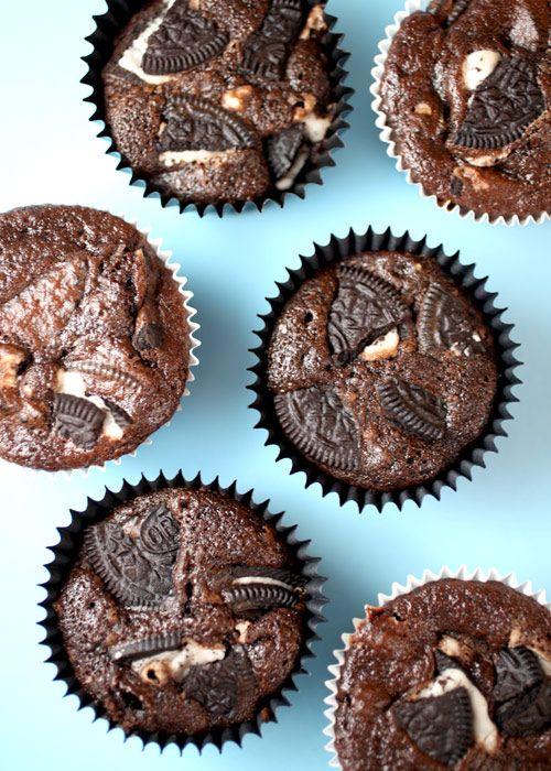 Oreo cupcakes: Sweet, Recipe, Chocolate Cupcakes, Cookies And Cream, Cream Cupcakes, Food, Cup Cake, Oreo Cupcakes, Dessert