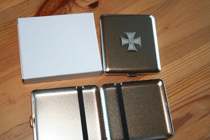 Zigaretten Etui Eisernes Kreuz Eichenlaub Emblem NEU | eBay
