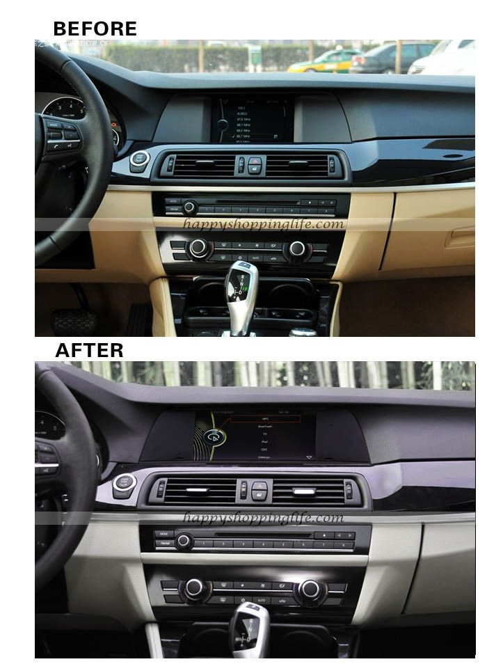 install bmw 5 f10 multimedia player with gps navigation. Black Bedroom Furniture Sets. Home Design Ideas