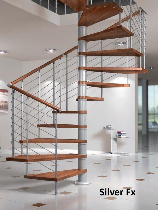 Escalier hlicoidal carr  SKSYSTEME  Escaliers en spirale en 2019  House stairs Wood