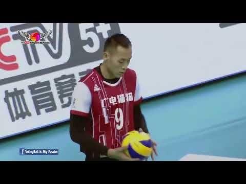 Jiangsu (江苏) vs Henan (河南) |31-12-2017| Chinese Men's volleyball super l...