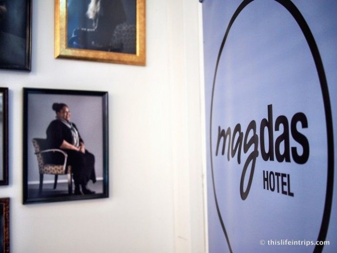 Magdas Hotel in Vienna is run by refugees.