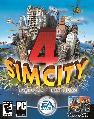 SimCity 4 Deluxe Edition Windows PC Game Download Steam CD-Key Global for only $9.95.  #videogames #deals #gaming #awesome #cool #gamer