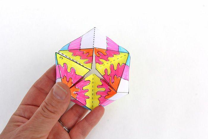 Оригами бесконечные открытки