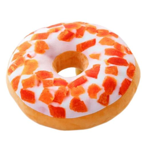 Plush-Pillow-Stuffed-Toy-Kids-Gift-Donut-Sweet-Buns-Food-Back-Cushion-Car-Set