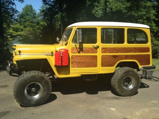 Different Types Of Jeeps >> JEEP WILLYS STATION WAGON 1954 - Google Search | camioneta ...