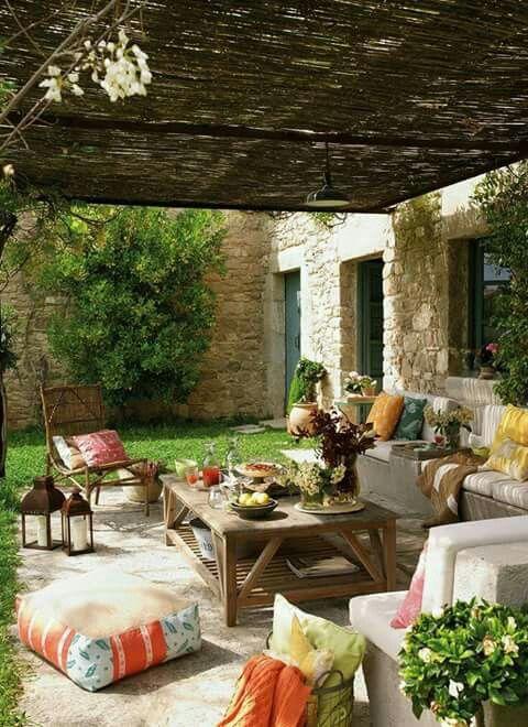Um espaço para relaxar
