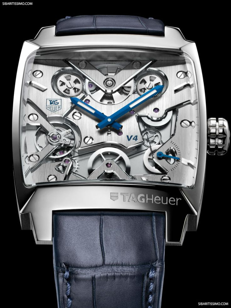 El reloj TAG Heuer Monaco V4 revela un proceso de fabricación sin precedentes