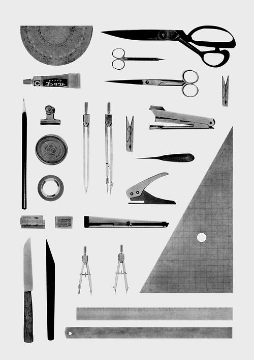 Architecture tools. Illustrate creative or User experience