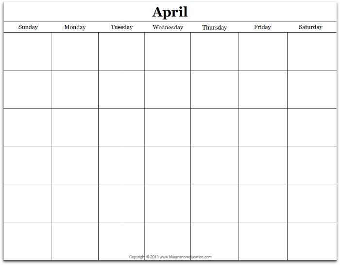 With this free monthly custom calendar printable, you'll be able to quickly change the month and use it for any year. It is an editable form...