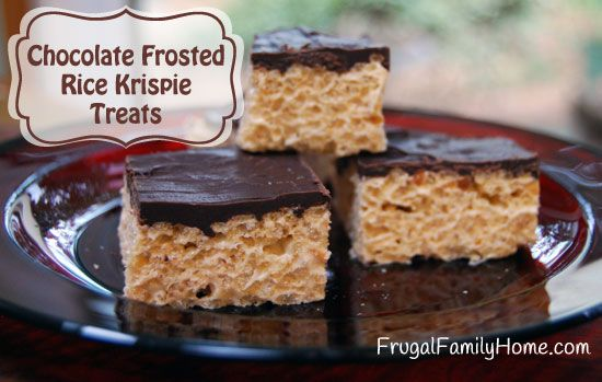 ... Rice Krispie Treats | Recipe | Butter, Chocolate covered and Krispie