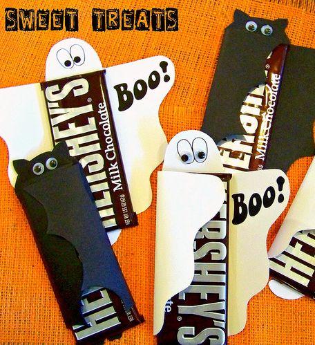 Hi Sugarplum | Halloween Sweet Treats: Great idea but with Endangered Species dark chocolate