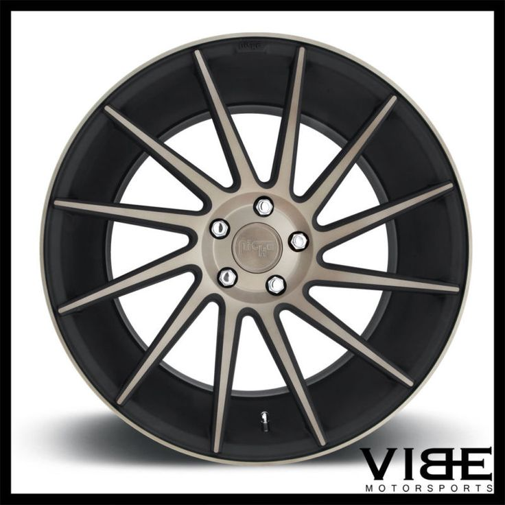"20"" NICHE SURGE MACHINED CONCAVE WHEELS RIMS FITS CADILLAC CTS V COUPE"