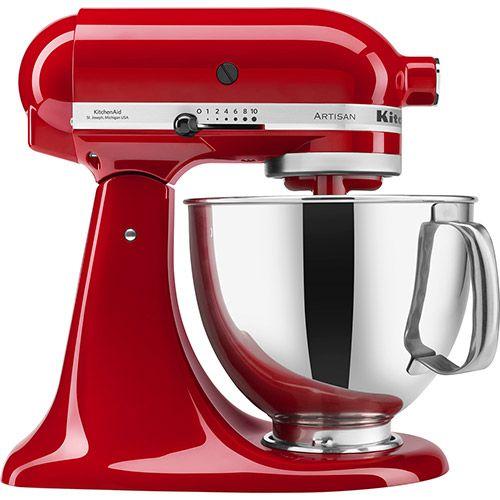 Batedeira KitchenAid Stand Mixer - 10 Velocidades 4,8L Vermelha