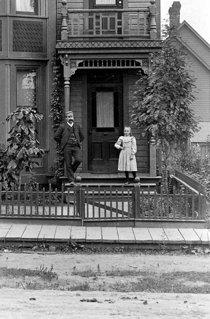 651 Richards Street, 1890s Source: Photo by Charles S Bailey (cropped), City of Vancouver Archives