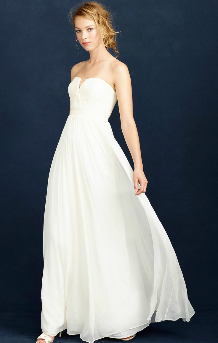 Gorgeous J.Crew wedding dress